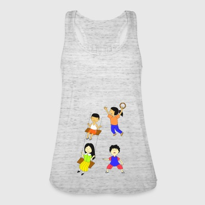 Children playing - Women's Tank Top by Bella