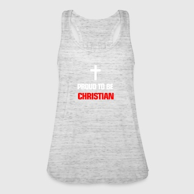Religion Proud to be christian - Frauen Tank Top von Bella