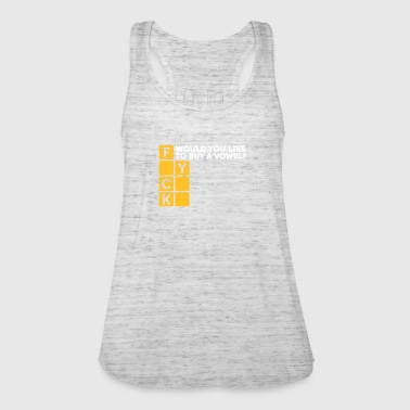Would You Like To Buy A Vowel? - Women's Tank Top by Bella