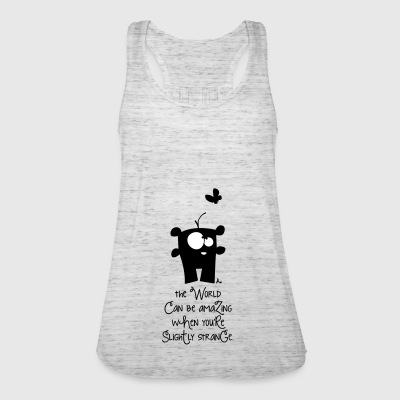 aMAziNg wOrLd*** - Frauen Tank Top von Bella