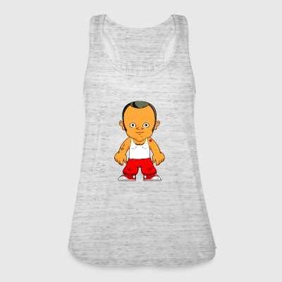 Cartoon character small gangster - Women's Tank Top by Bella