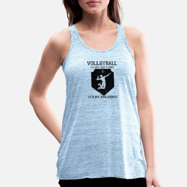 Attitude To Life Volleyball Sport Life Attitude - Women's Flowy Tank Top