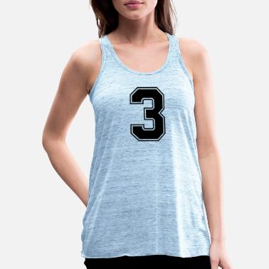 3 3 - Women's Flowy Tank Top