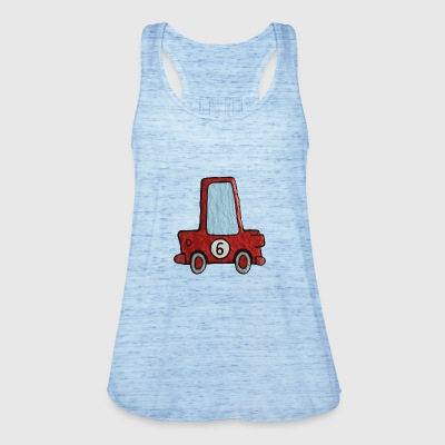 Enillo racecar red number 6 - Women's Tank Top by Bella