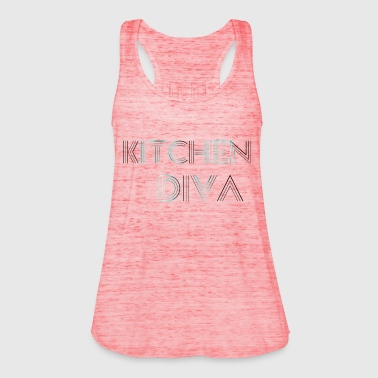 Kitchen  Neon Blue - Frauen Tank Top von Bella