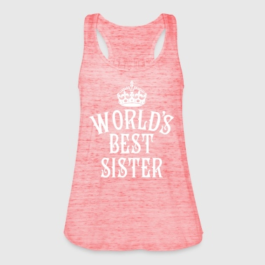 23 World's best Sister Crown Queen - Frauen Tank Top von Bella