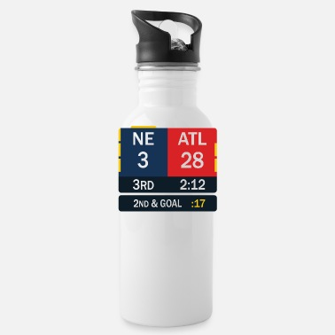 England New England Patriots Comeback in Superbowl 51 - Trinkflasche