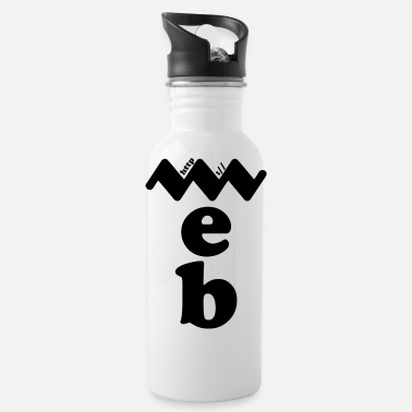 Web web blak - Drinkfles