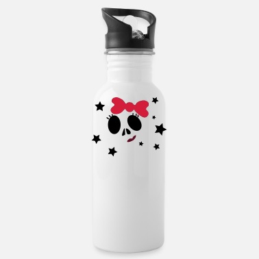 Girly Girly Skull - Gourde