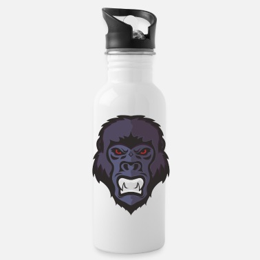 Mascot Gorilla Mascot - Water Bottle