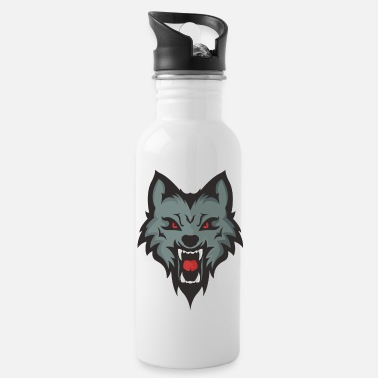 Mascot Wolf Mascot - Water Bottle