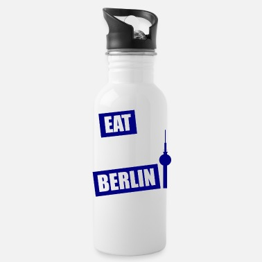EAT SLEEP BERLIN BLUE - Trinkflasche
