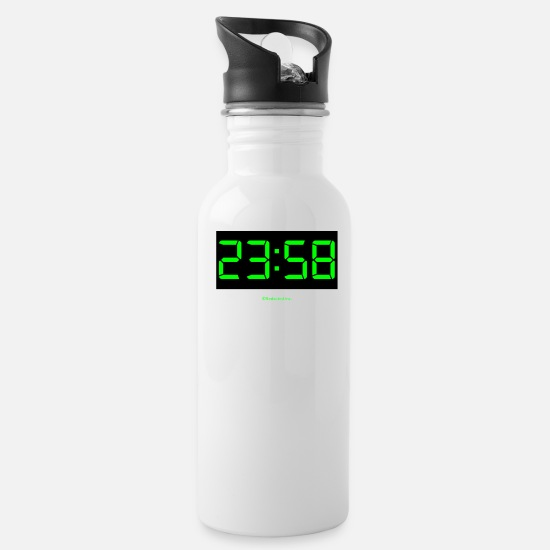 Digital Mugs & Drinkware - Doomsday - Water Bottle white