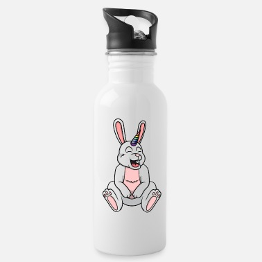 Mythical Cheerful Mythical Rabbit - Water Bottle