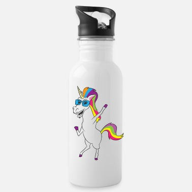 Mythical Collection SUNGLASS UNICORN - UNICORN WITH SUNGLASSES - Water Bottle