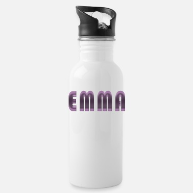 Birth Name Emma name first name name day birth gift idea - Water Bottle
