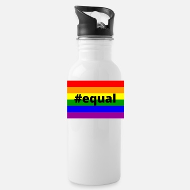 Equality #equal - Water Bottle