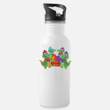 Christmas gifts for family Dino! - Water Bottle