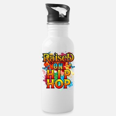Hip Raised On Hip Hop - Water Bottle