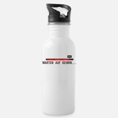 Wait Waiting for Brain, Waiting for Brain - Water Bottle