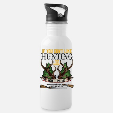 Jagdsaision Hunter Statement Funny Sayings Cool Hunt Gift - Water Bottle