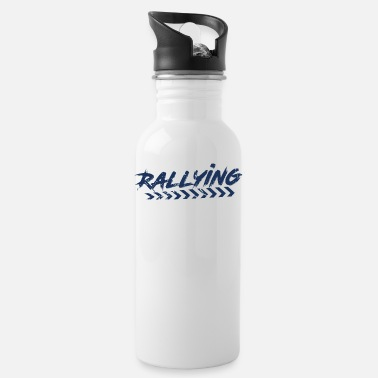 Rally Rally Fan Rallying Sport Rally Rally - Water Bottle