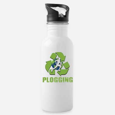 Plogger Green Ploggering - Water Bottle