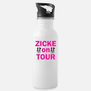 Zicke on Tour - Trinkflasche