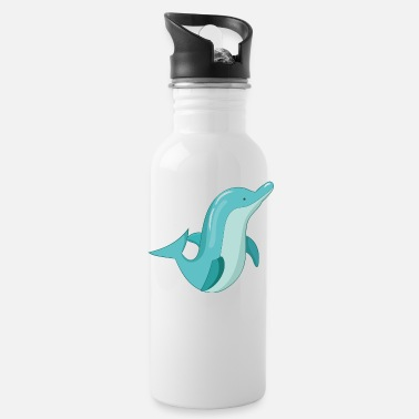 Dolphin Dolphin Dolphin - Water Bottle