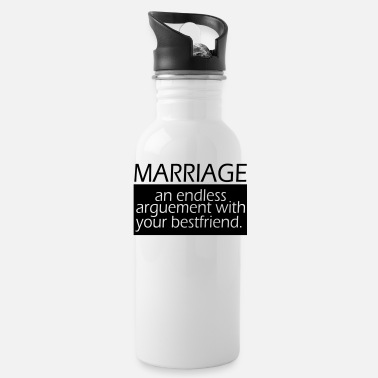 Marriage Marriage - Water Bottle