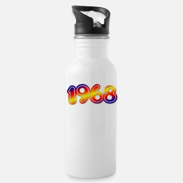 Year Of Birth Birth Year 1968 year of birth - Water Bottle