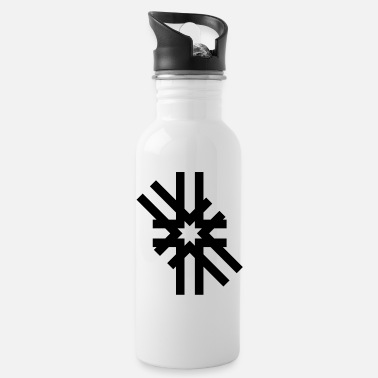 Stigma Magic pattern sun stigma symbol gift - Water Bottle