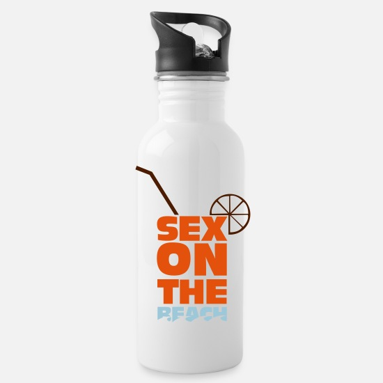 Sex On The Beach Mugs & Drinkware - Sex on the Beach - Water Bottle white