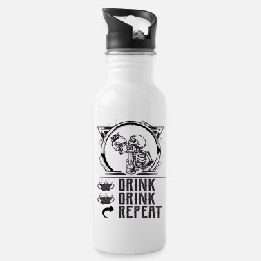 Drink DRINK DRINK REPEAT - Water Bottle