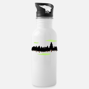 Forest Forest Forest - Water Bottle
