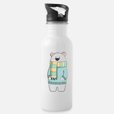Winter Eisbaer winter - Water Bottle