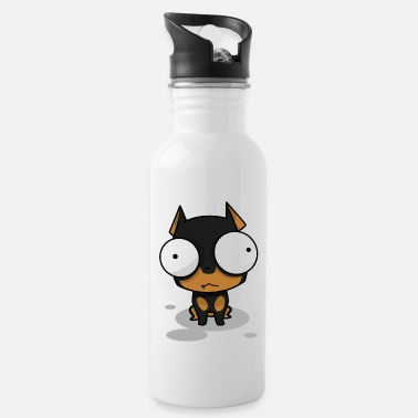 Kids Cute dog puppy Cute pet gift - Water Bottle