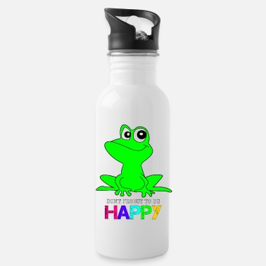 Frog Happy Frog Frog - Water Bottle