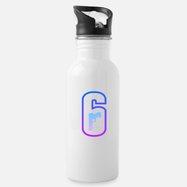 Rainbow Six LOGO RAINBOW SIX FLASHY COLOR - Water Bottle