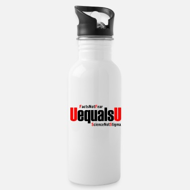 Stigma HIV Undetectable Untransmittable - Not Stigma - Water Bottle