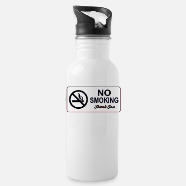 Smoking no smoking - Water Bottle