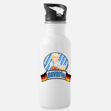Bavaria Bavaria Oktoberfest Bavaria - Water Bottle