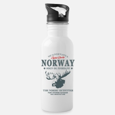 Elch Norway Moose - Trinkflasche