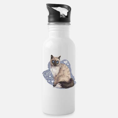 Cat Family - Trinkflasche