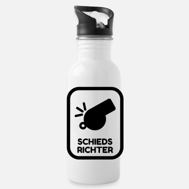 Referee Refereeing Schiedsrichter Arbitre Sport - Water Bottle