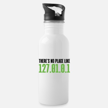 Admin There`s no place like home programmer gift - Water Bottle