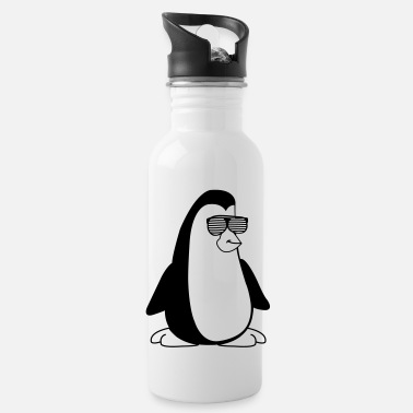 Bril cool_pinguin_001 - Drinkfles