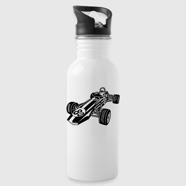 Race Car / Race Car 02_black - Water Bottle