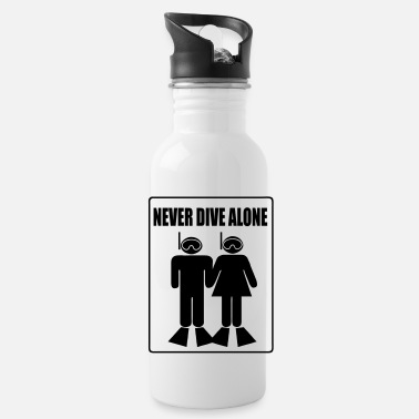 Never Dive Alone - Gourde
