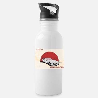 Classic Car Japanese cars, classic car, classic car - Water Bottle